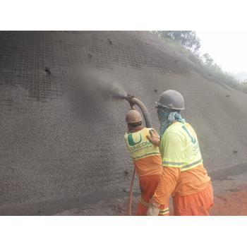 Concreto projetado via úmida