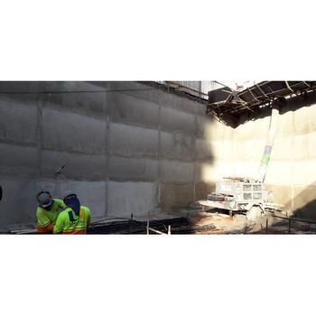 Contenção de talude para construção civil