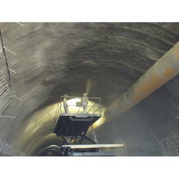 Execução de túnel NATM